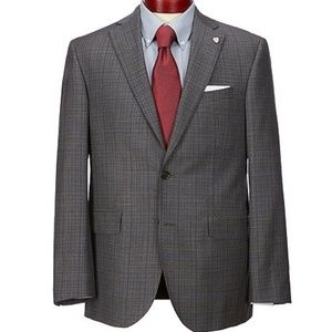 Grey Pin Stripe Daniel Cremuix Suit